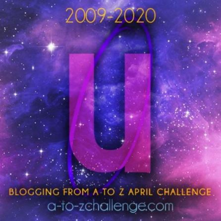 """Picture shows a """"U"""" which stands for User intent is a part of the #AtoZchallenge"""