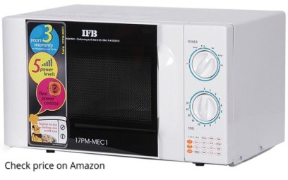Picture of IFB 17 L Solo Microwave Oven - 17PM MEC1. Click to check the product on Amazon.in
