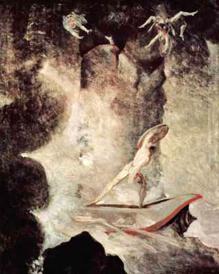 odysseus between scylla and charybdis, by fussli