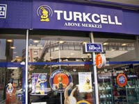 Turkish cellphone store