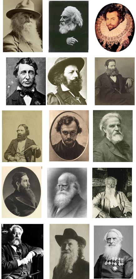 poets and their beards