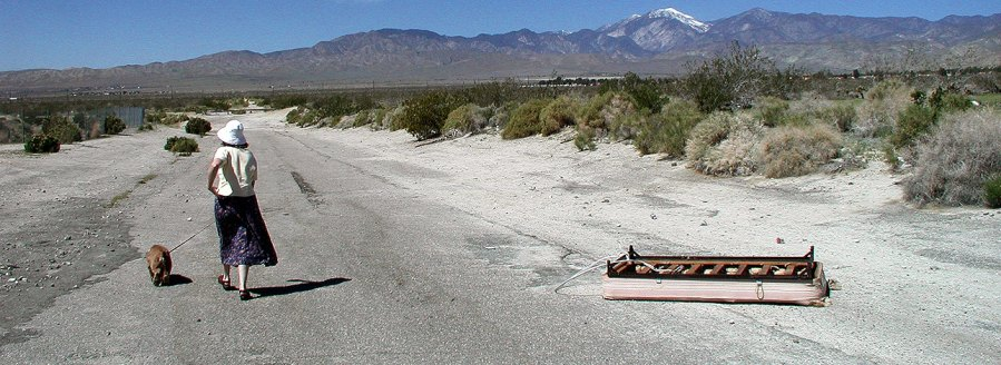 Carol and Max near Desert Hot Springs