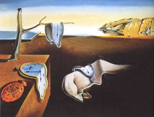La persistencia de la memoria, 1931, by Salvador Dali. Oil on canvas. Museum of Modern Art, NY, given anonymously, 162.1934.