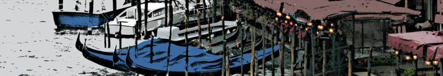 detail of Venice scene