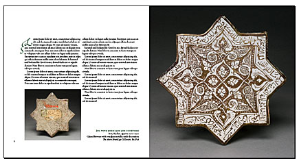 persian ceramics entry spread