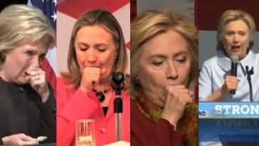 Hillary Caughing