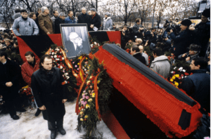 Read more about the article Lev Ponomarev: Shared public grief at Sakharov's parting