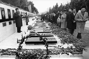 Remember the Date: 19-20 January 1990 ('Black January') saw 147 civilians killed and 800 injured in Baku, Azerbaijan