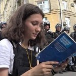 """Olga Misik's speech in court: """"You are not passing this judgment on me – you are passing it on yourself."""""""