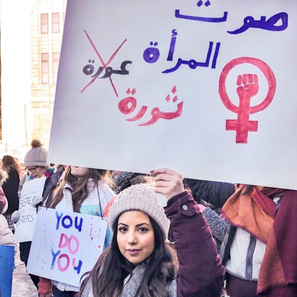 Alaa Al-Eryani, founder of the Yemeni Feminist Movement