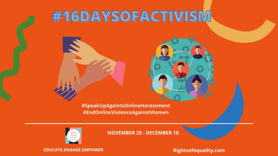 #16DaysOfActivism