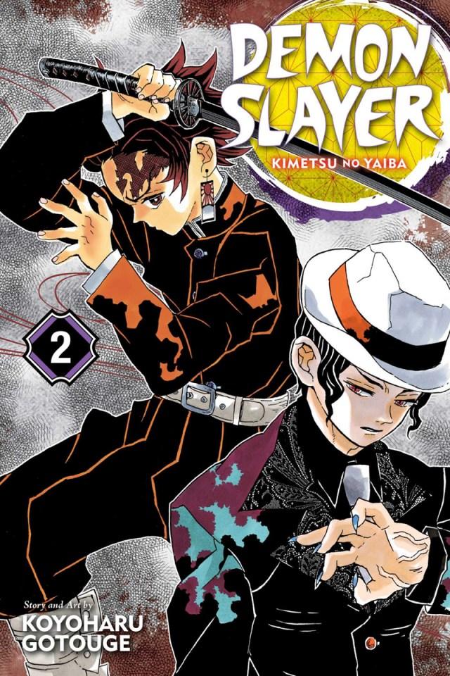 Image result for demon slayer manga cover