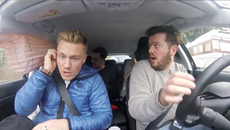 Vloggers Car Accident Caught On Camera From Four