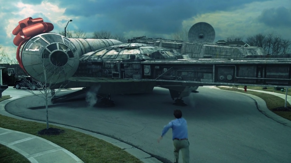 Husband Buys Wife A Car She Gets Him The Millennium Falcon Rtm Rightthisminute