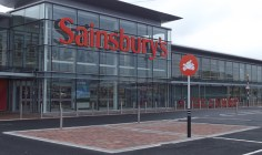Sainsburys Bangor Motorcycle Parking