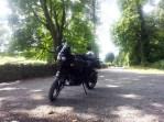 Bike at Audleys Castle