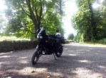 Bike at Audleys Castle