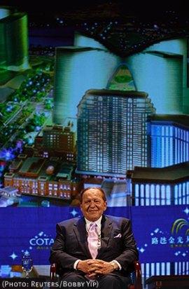 Shelly Adelson, gambling mogul and Bibi Netanyahu patron
