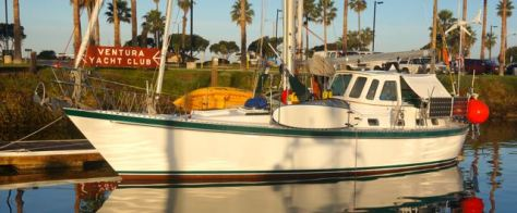 Kandu and sunrise at Ventura Yacht Club