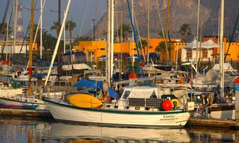 Kandu moored at Ensenada's Cruise Port Village