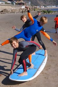 Surfing with Charlie