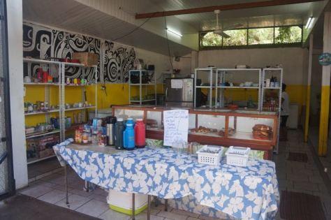 Order counter at Snack Vaeaki