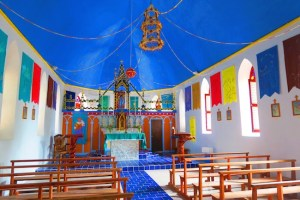 South Fakarava Catholic church newly renovated.