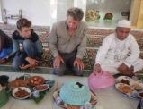 Eid ul-Adha 'begibung' at Medana Bay mosque: Bolo, Trent and Eric