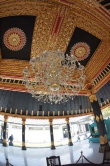 Museum Interior of Sultan's Palace.