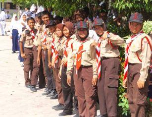 Scouts in Borneo!