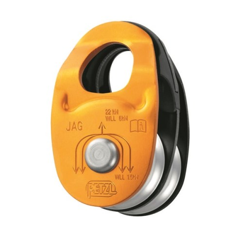 Petzl Jag pulley | Petzl confined space & rescue equipment