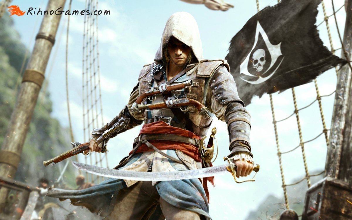 Assassin Creed IV Black Flag Download Free With all DLC