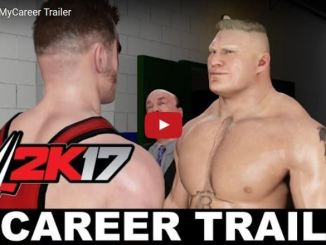 WWE 2k17 Trailer MYCAreer Official