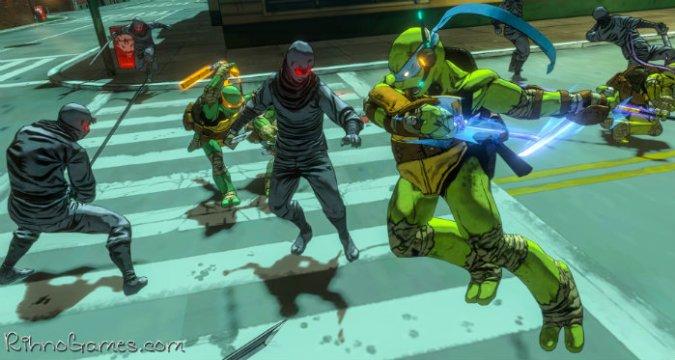 Teenage Mutant Ninja Turtles Mutants in Manhattan PC
