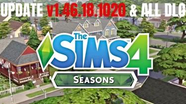 The Sims 4 Seasons Update v1.46.18.1020