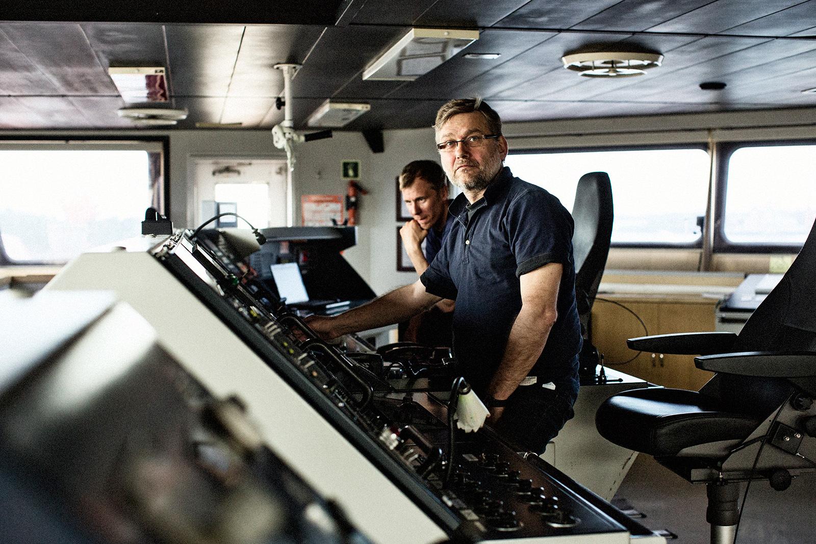 Brändikuvaus laivayhtiö SSL Shippingille. Brandimages for SSL Shipping.