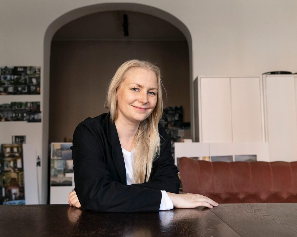 Elokuvaohjaaja Zaida Bergroth.