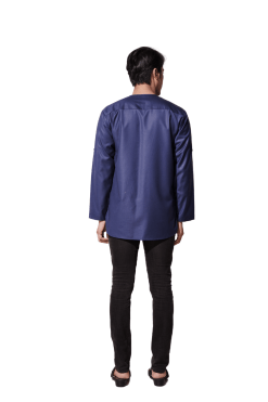Navy Blue Kurta Malique