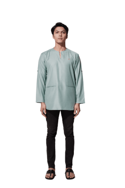 Sage Green Kurta Malique