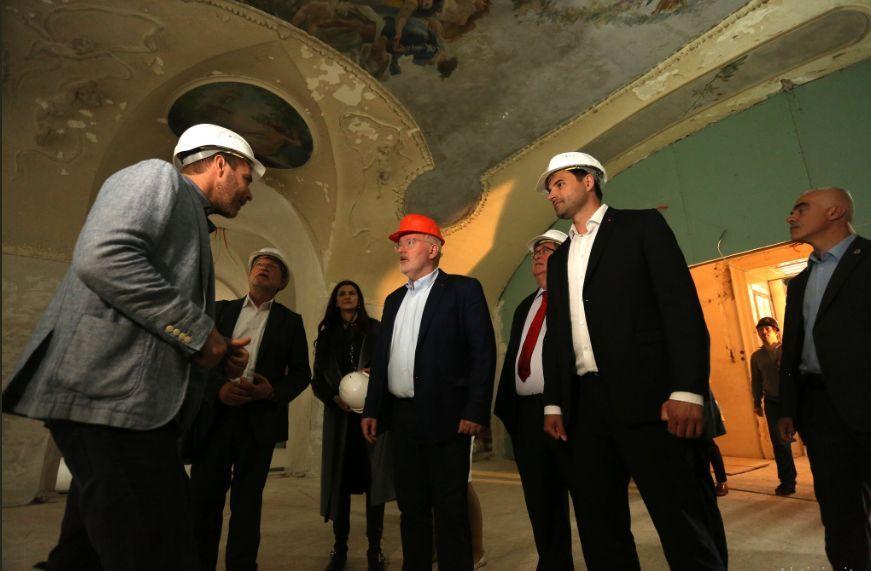 Spitzenkandidat socijaldemokrata posjetio Rijeku