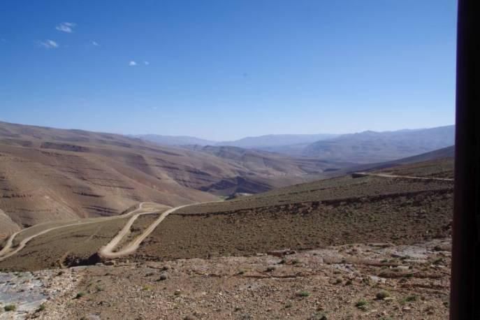 Auffahrt zum Tizi-n-Quano