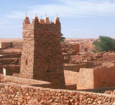Moschee in Chinquetti Mauretanien