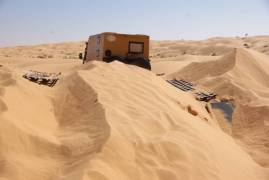 Tunesien Düne bei Tembain