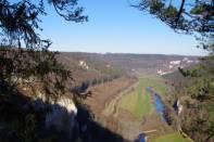 Blick vom Knopfmacherfels zur oberen Donau