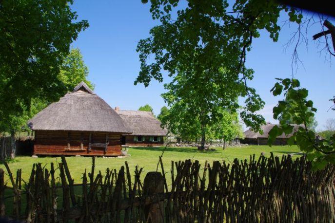 Museumsdorf in Litauen