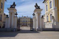 ... das Schloss Rundales pils ...