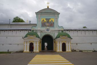 Das 1767 angebaute Katharinentor - irgendwie ein Stilbruch