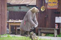 """Hier """"tanzt"""" der russische Bär"""
