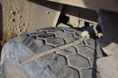 ...ein Moniereisen im Reifen