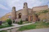 Das Tor zur ehemaligen Festung Hisor...